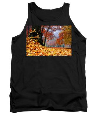 Autumn In The Woodland Tank Top