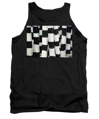 Tank Top featuring the photograph Blanco Y Negro by Skip Hunt