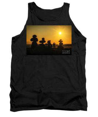 Boulders By The Sea Tank Top