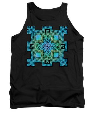 Celtic Castle Tank Top