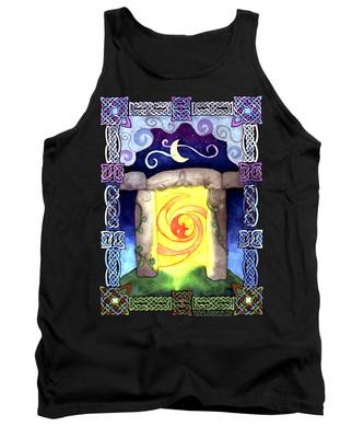 Celtic Doorway Tank Top