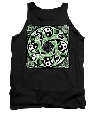 Celtic Spiral Stepping Stone Tank Top