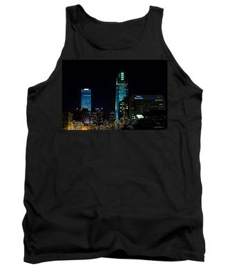 Christmas Time In Omaha Tank Top