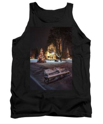 Church Of St Mary St Paul At Christmas Tank Top