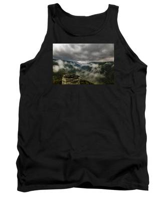 Clouds Rising At Lindy Point Tank Top