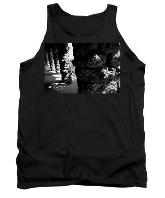 Columns Of The Park Guell Tank Top