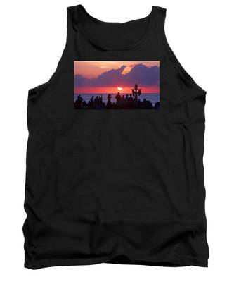 Easter Sunrise Beach Service Tank Top