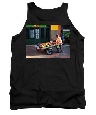 Tank Top featuring the photograph Fruta Limpia by Skip Hunt