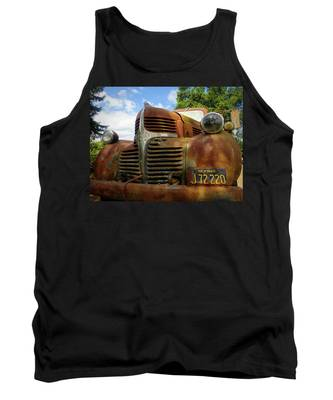 Tank Top featuring the photograph Grandpa by Skip Hunt