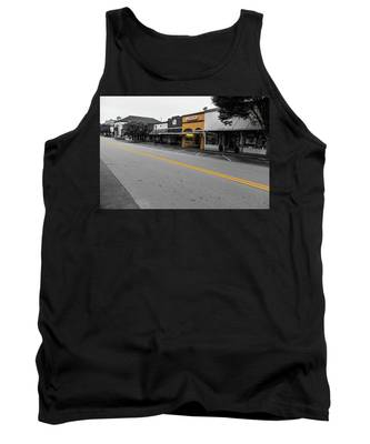 Historic Buford In Selective Color Tank Top