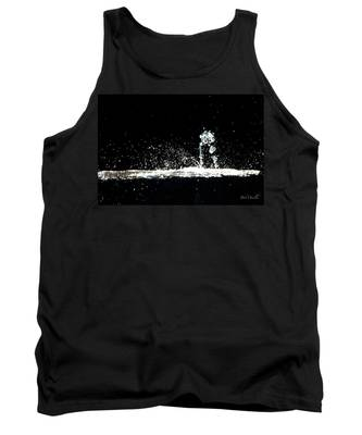Horses And Men In Rain Tank Top