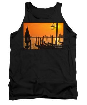 Tank Top featuring the photograph Italy Venice Riva Degli Schiavoni , Canale Grande Riva Degli Sch by Juergen Held