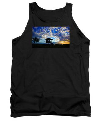Lifeguard Station Sunrise Tank Top