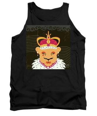Lioness Queen Tank Top