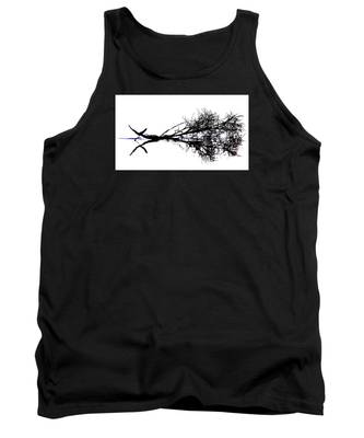 Palm Branch At The Beach Tank Top