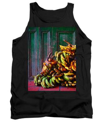 Tank Top featuring the photograph Patacon by Skip Hunt