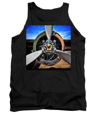 Propeller Art   Tank Top