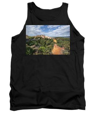 Roussilon Provence  Tank Top by Juergen Held