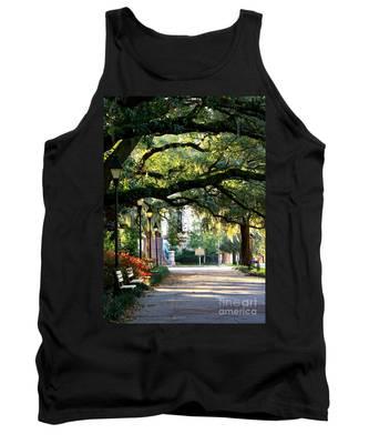 Savannah Park Sidewalk Tank Top