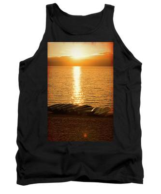 Sunset On Quinault Tank Top