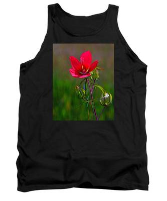 Texas Star Hibiscus Tank Top