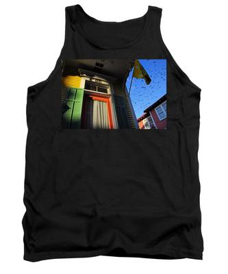 Tank Top featuring the photograph The Birds by Skip Hunt