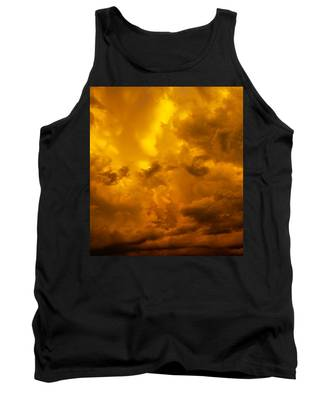 Tank Top featuring the photograph The Last Glow Of The Day 008 by NebraskaSC