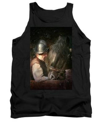 The Old Man And His Trusty Friend Tank Top