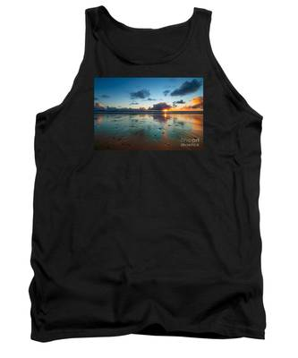 Wales Gower Coast Summer  Tank Top
