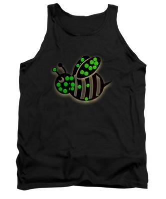 Honeybee Colonies Tank Tops