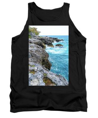 Negril Jamaica Cliffs Tank Top