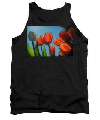Towering Tulips Tank Top