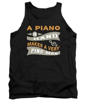 Piano Tank Tops