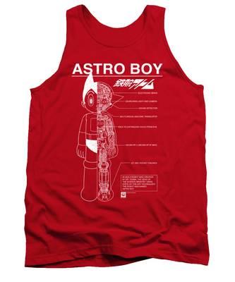 Astro Tank Tops