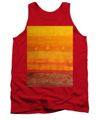 Earth And Sky Original Painting Tank Top
