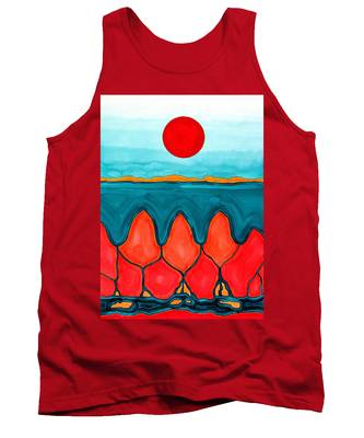 Mesa Canyon Rio Original Painting Tank Top