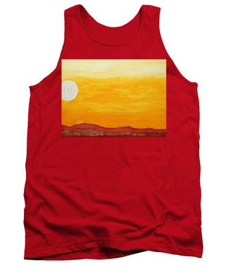 Moonshine Original Painting Sold Tank Top