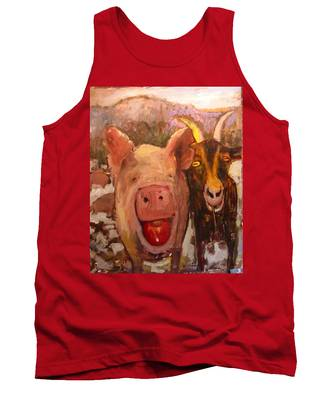 Pig And Goat Tank Top