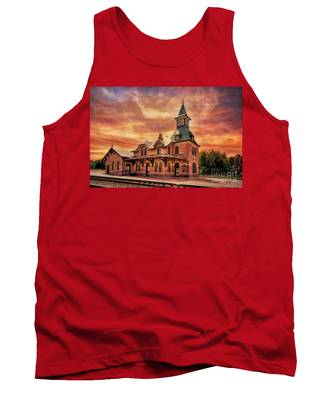Point Of Rocks Train Station  Tank Top