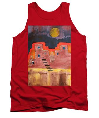 Pueblito Original Painting Tank Top