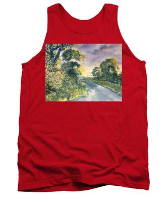 Wild Roses On The Wolds Tank Top
