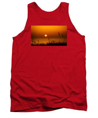 Sunrise Sea Oats Tank Top