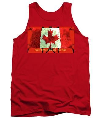 Canada 150 Years Tank Top