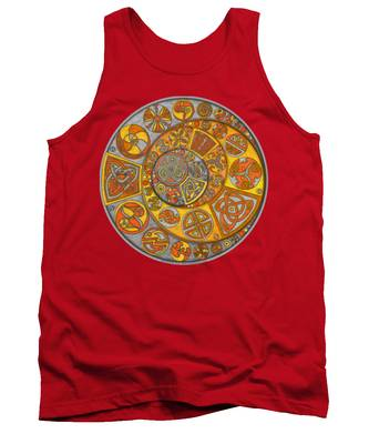 Celtic Crescents Tank Top