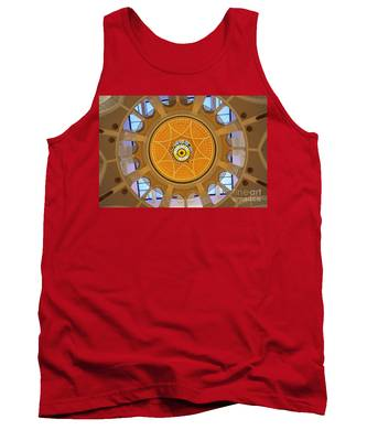 Dubai Mall Dome  Tank Top by Juergen Held