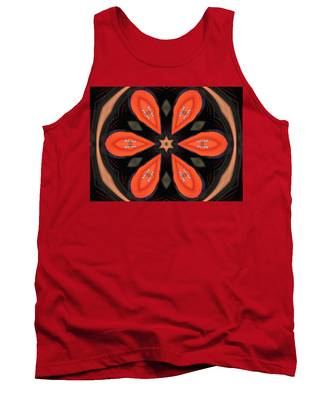 Embroidered Cloth Tank Top