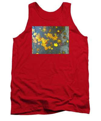 Fading Leaves Tank Top