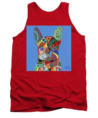 Frenchie Poo Tank Top