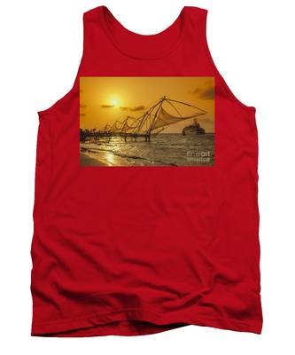 Tank Top featuring the photograph India Cochin by Juergen Held