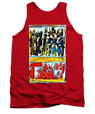 Mountain Of Many Faces Tank Top